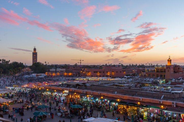 عناوين السياحة بين مراكش وكازابلانكا