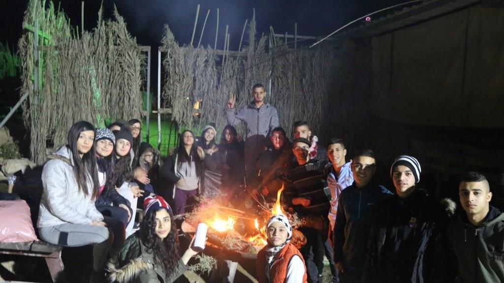 في صحراء النقب .. رحلة سياحية مميزة لنادي التحديات من دبورية