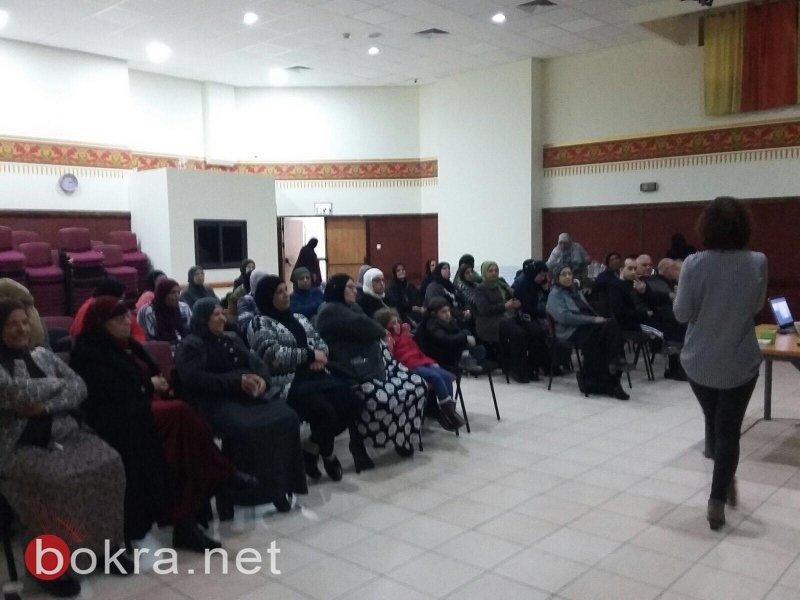 التقاعد عطاء وعمل محاضرة لمتقاعدي دبوريه