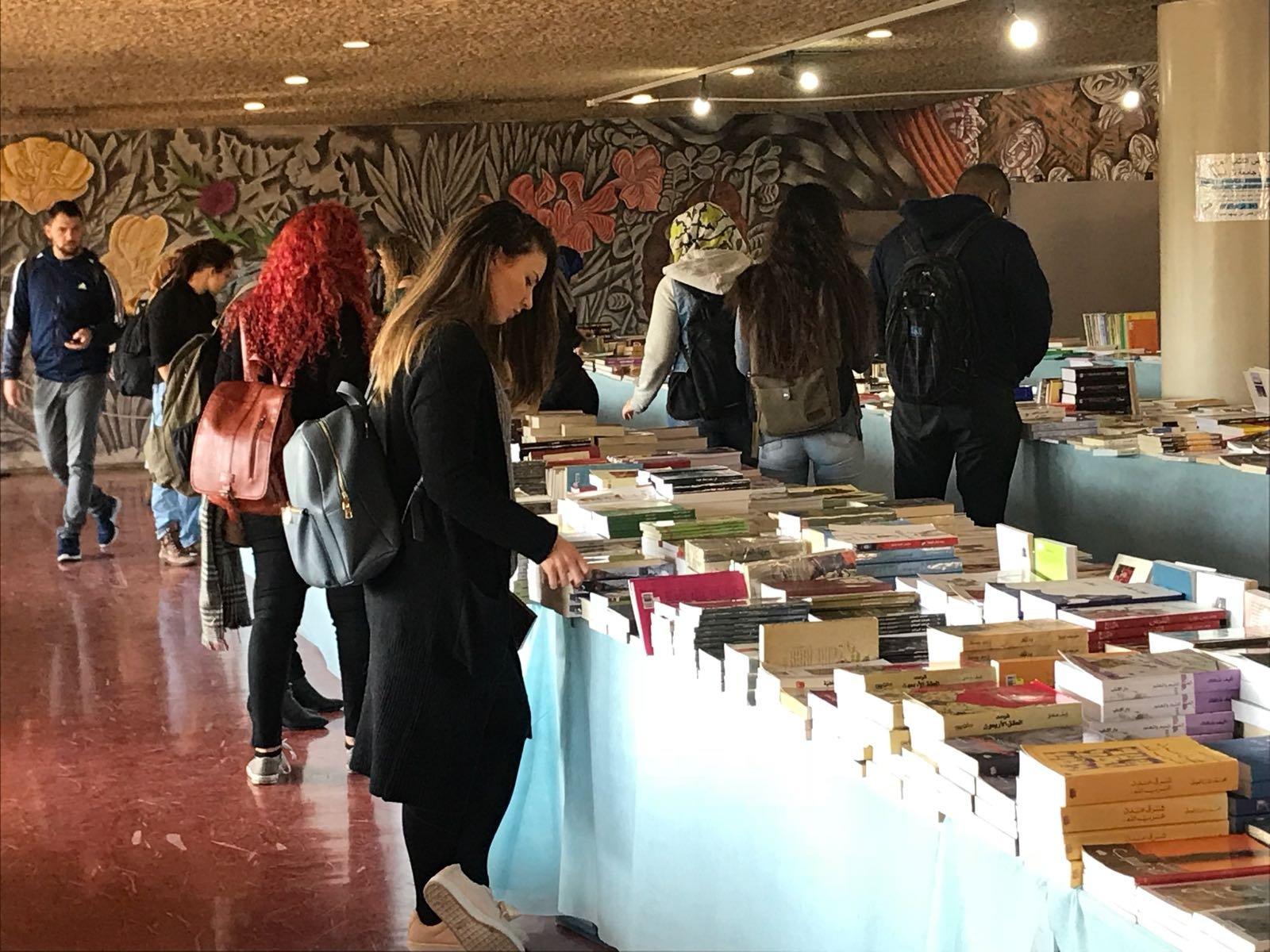 افتتاح اضخم معرض للكتاب في جامعة تل ابيب, مستمر حتى الخميس 11.1.18