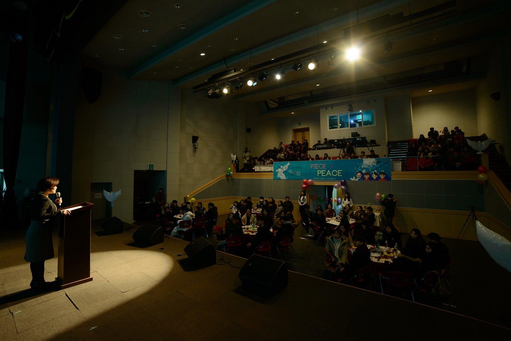 حدث مؤتمر السلام من أجل سيادة الشباب ، قطعة سلام