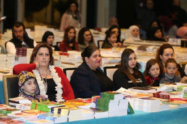 افتتاح ضخم لمعرض الكتاب في الناصرة – قاعات الشمشوم