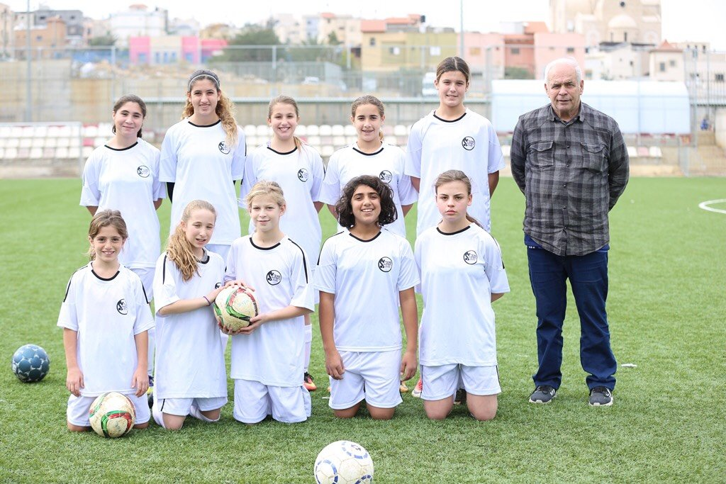 اختيار اللاعبة لقاء جبارين للالتحاق بمنتخب اسرائيل للفتيات