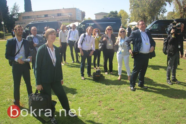غفعات حبيبة: الرئيس الالماني بزيارة مثمرة لمركز السلام المشترك