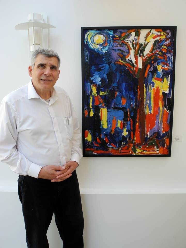 إفتتاح معرض (- Intrusion تدخل مزعج) للفنان ميخائيل توما في مدينة لايبزيغ- المانيا