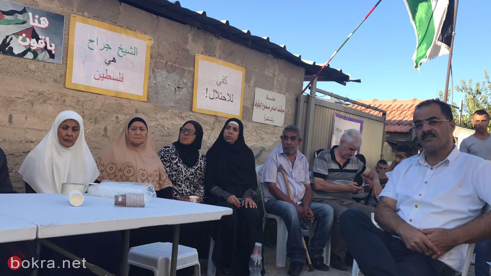 دعوة المقدسيين للتضامن مع عائلة شماسنة ضد اخلاء منزلها