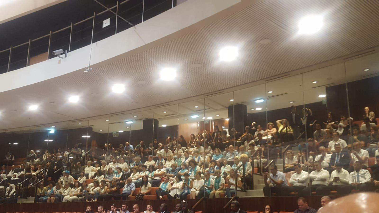 الهيئة العامة للكنيست تناقش قانون القومية
