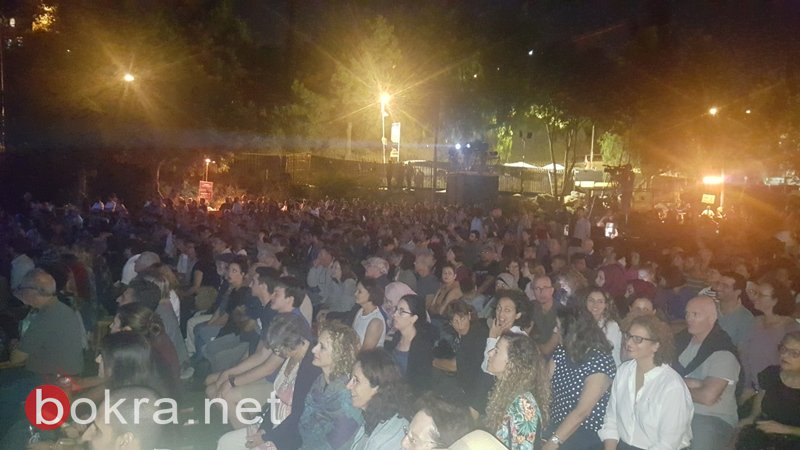 افتتاح الامسية الموسيقية كلنا ضمن مهرجان مقدسة