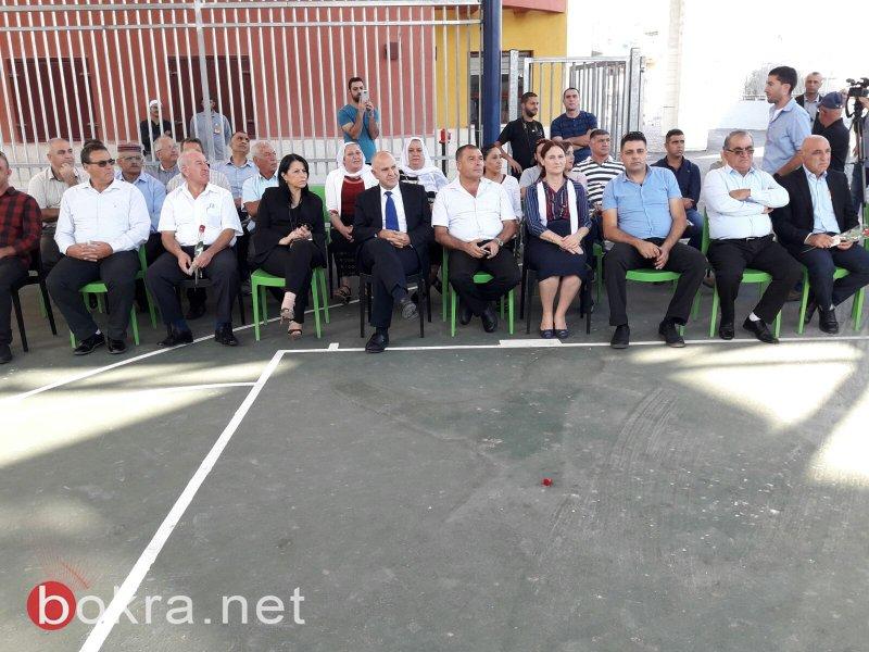 المدير العام لوزارة المعارف يفتتح مدرسة بيانوح جث ويزور الغجر وقرى الجولان