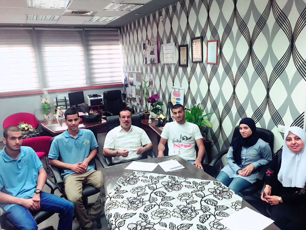 إستمرار الحملة الانتخابية لرئاسة مجلس الطلاب في الثانوية الشاملة في كفر قاسم
