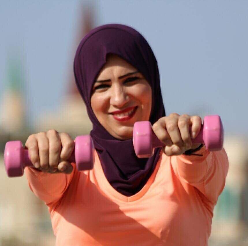 هنادي خطيب سرحان ... سيّدة نحفاويّة تذوّت الرياضة في نساء بلدها والمنطقة