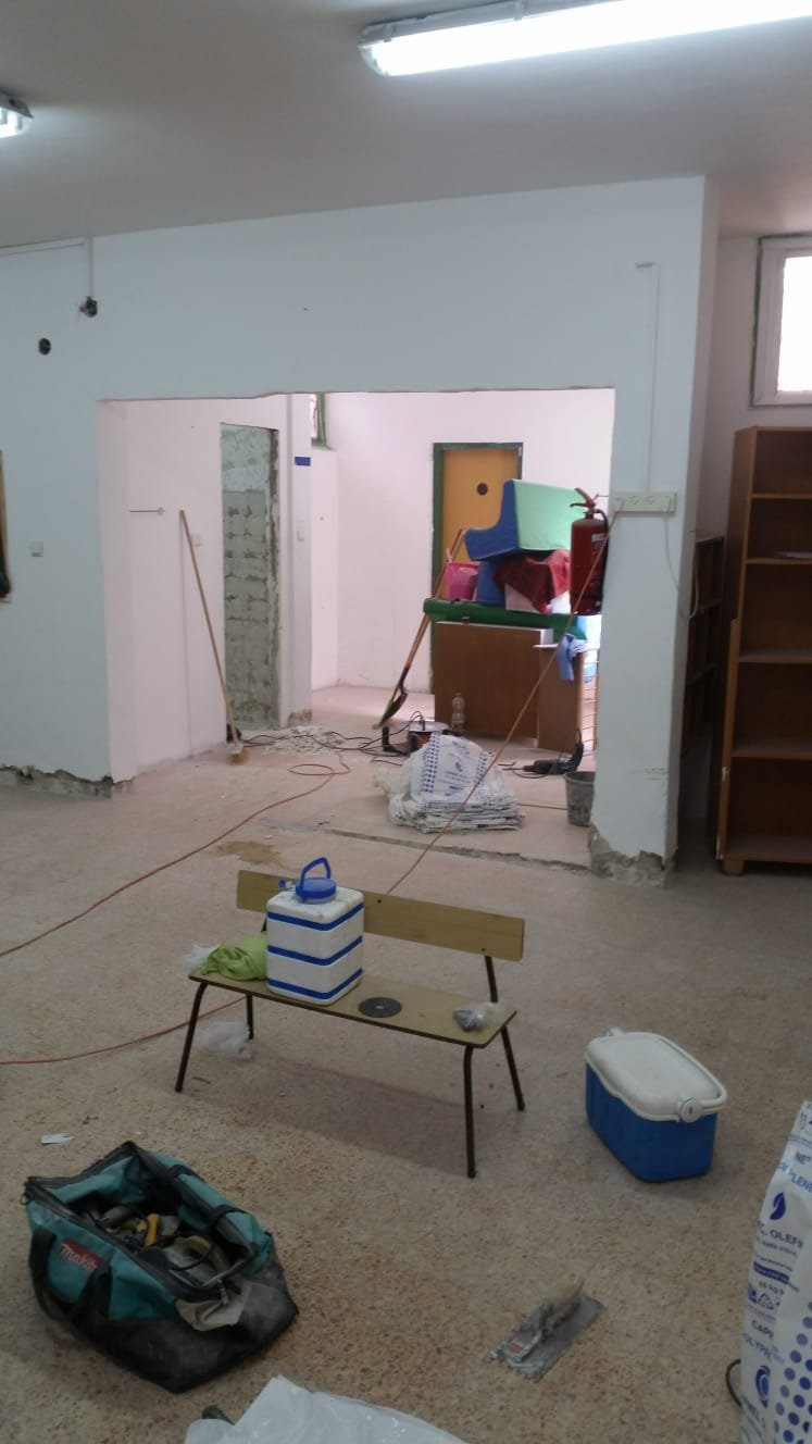 بلدية عكا تباشر بترميمات جذرية في روضة عباد الشمس في عكا القديمة