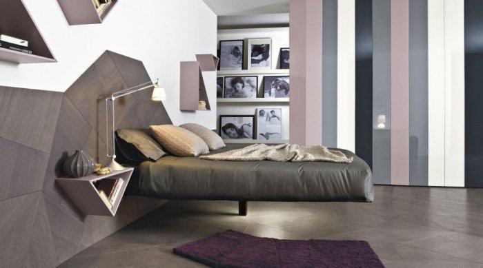 الأسلوب المودرن في ديكورات غرف النوم