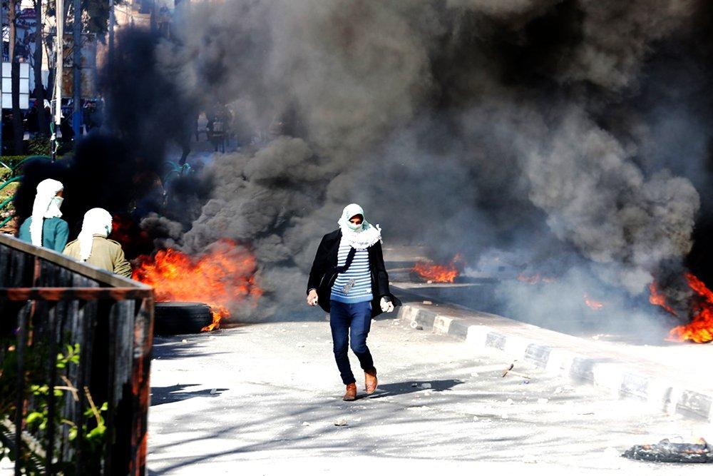 عدد كبير من الإصابات بالرصاص الحي والمطاطي خلال قمع الاحتلال مسيرات الخليل