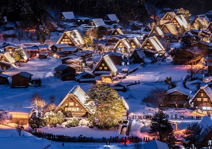 قرية يابانية من أكثر المناطق برودة على كوكب الأرض