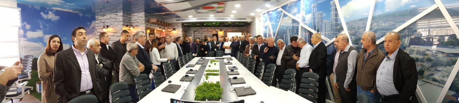 سخنين: افتتاح مركز التربية للتخطيط في مقر لجنة التنظيم والبناء قلب هجليل