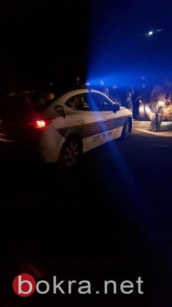 إصابتان بحادث طرق قرب حي الظهر في أم الفحم