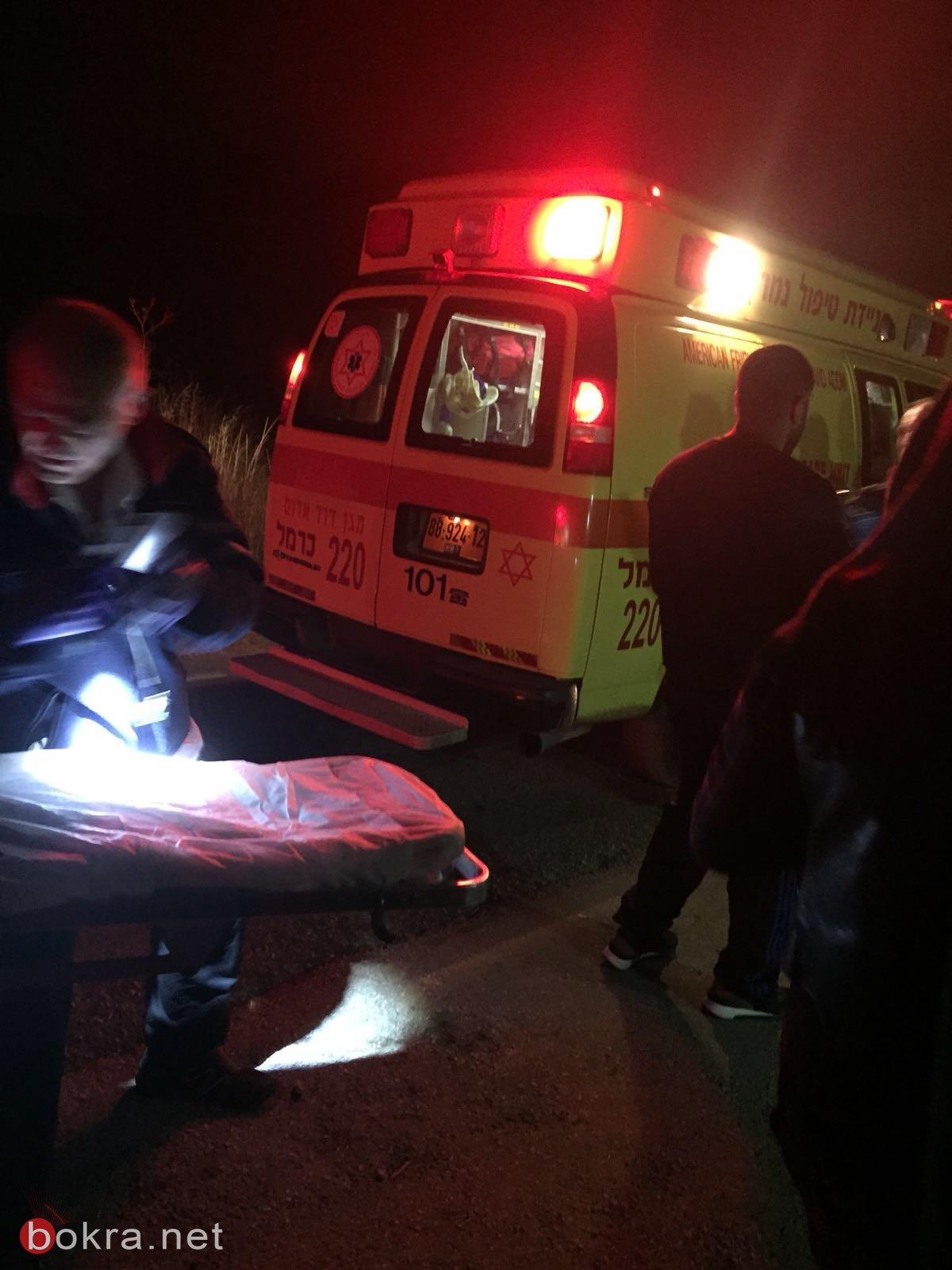 ام الفحم: اصابة فتاتين اثر حادث طرق