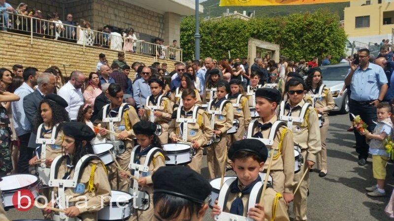 بالصور: الرامة تحتفل بأحد الشعانين