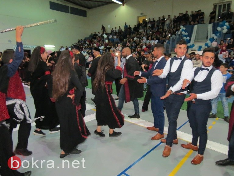 مدرسة البخاري الثانوية عرابة تخرج فوجها الثاني عشر ..