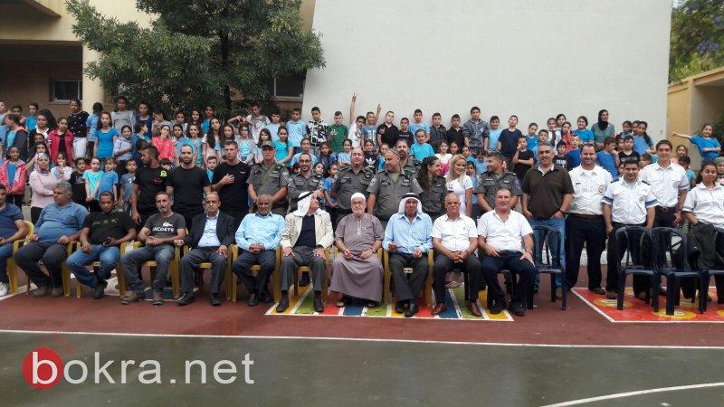 أجواء وفعاليات مميزة في يوم الشرطة الجماهرية في مدرسة الطيبة الزعبية