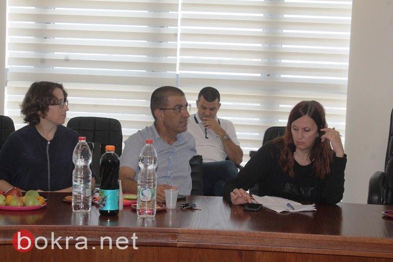 سخنين: المستشار القضائي في ضيافة غنايم