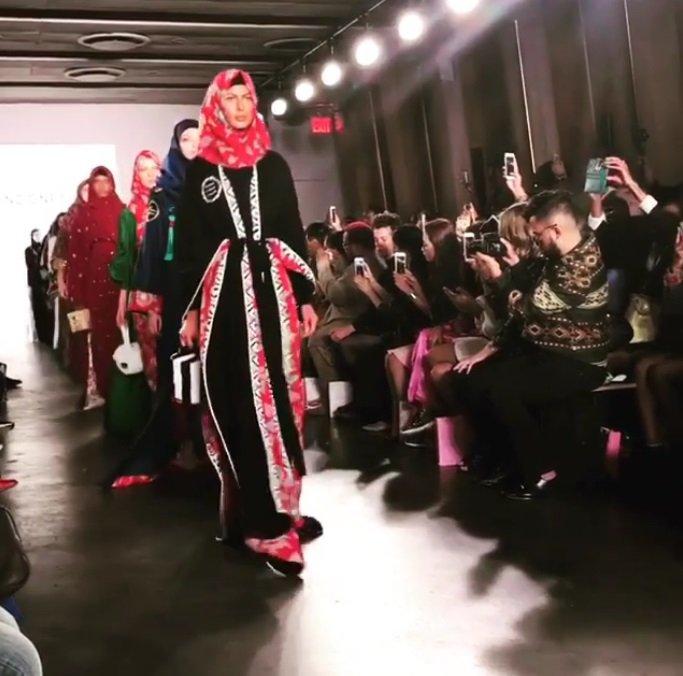 الحجاب يشعل منصة أسبوع الموضة في نيويروك