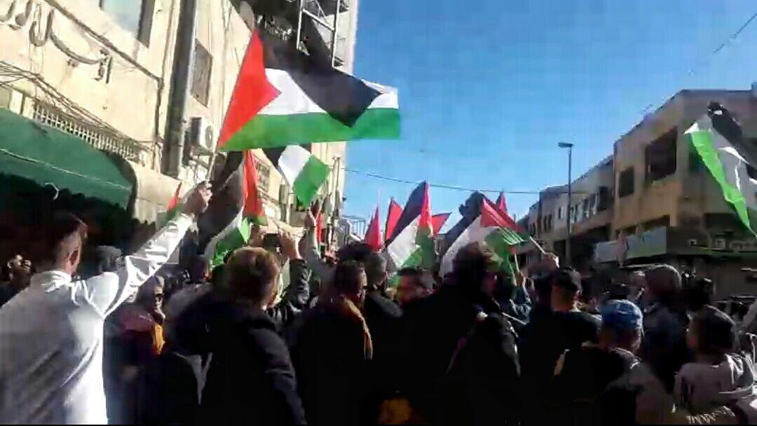 القدس: قمع مظاهرة واعتقال عضو المجلس التشريعي جهاد ابو زنيد
