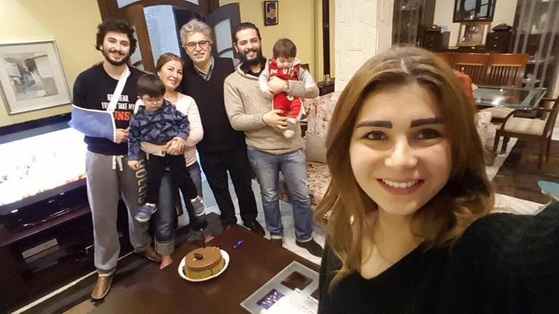 عائلة عباس النوري تحتفل بعيد ميلاده