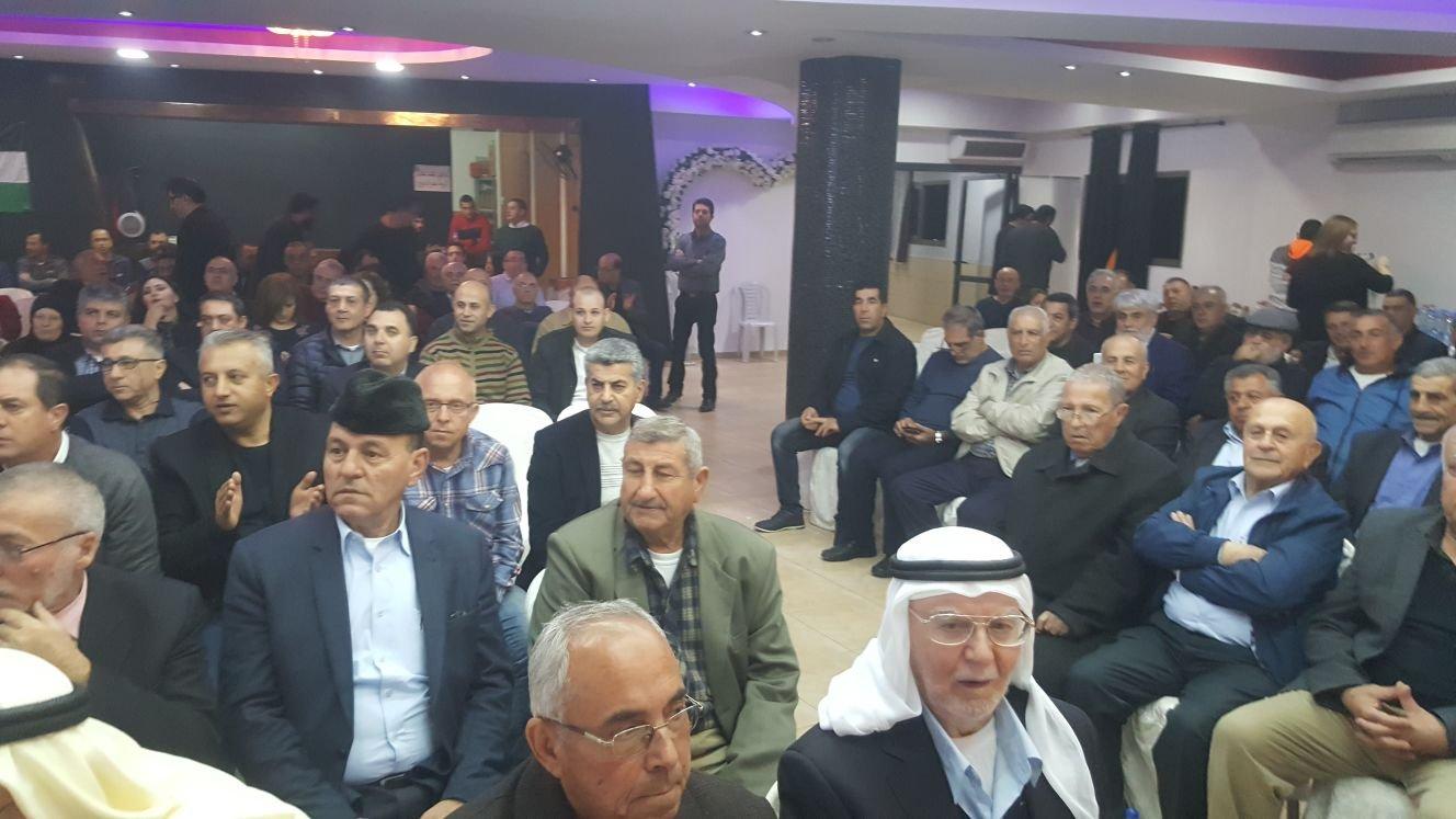 التجمع يحيي مئوية عبد الناصر في كفركنا