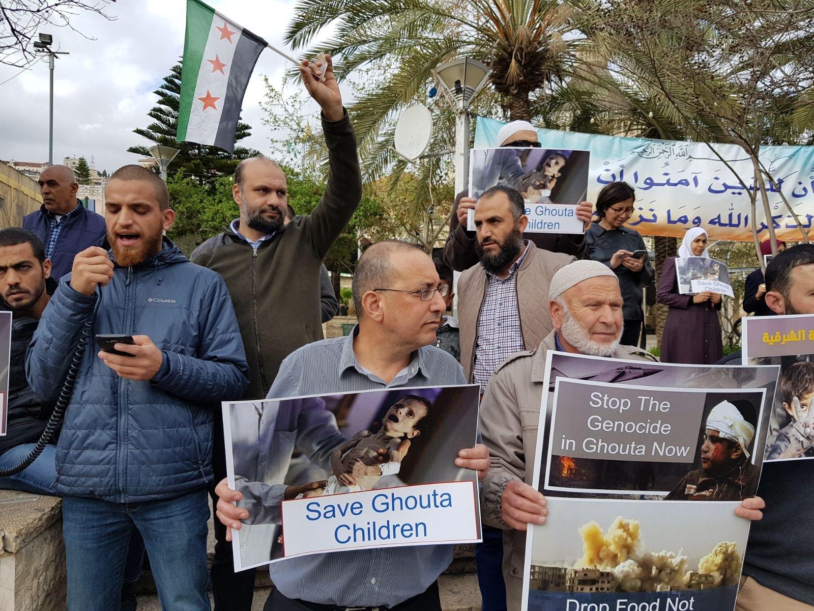 الوفاء والإصلاح: 'أوقفوا شلال الدم والدمار في الغوطة'