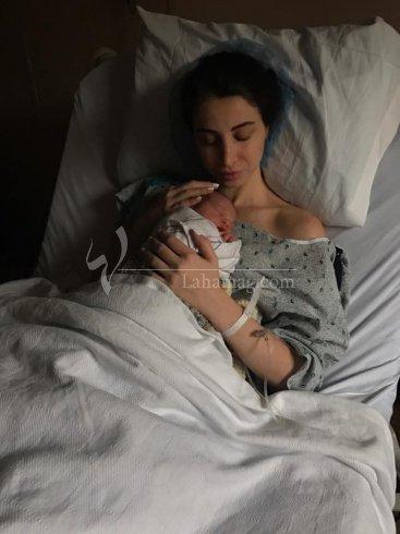 انابيلا هلال تضع مولودها الجديد، وهذا اسمه