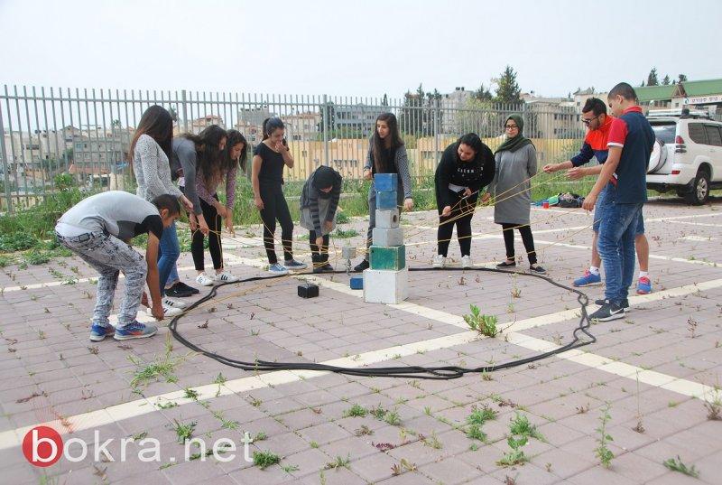 فعاليات ترفيهية وتعليمية في مخيم مركز شبابيك يافة الناصرة