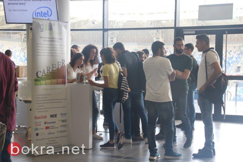 حيفا: مشاركة واسعة لعشّاق الهايتك والمهندسين بمعرض تسوفن التكنولوجي الثالث