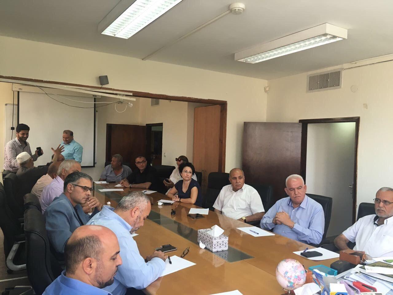 كفر قاسم: لجنة المتابعة تجتمع قبل بدء المظاهرة القطرية عصر اليوم