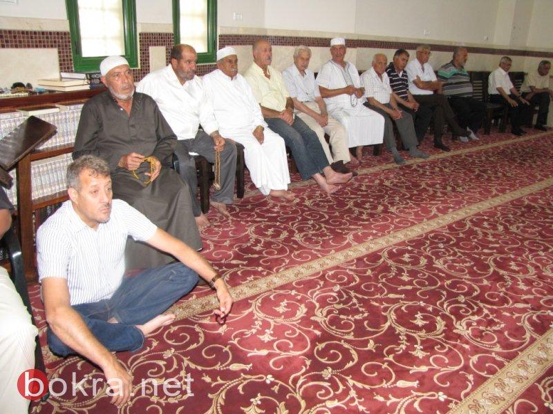 جمعة رمضان الثانية بجامع عمر المختار يافة الناصرة
