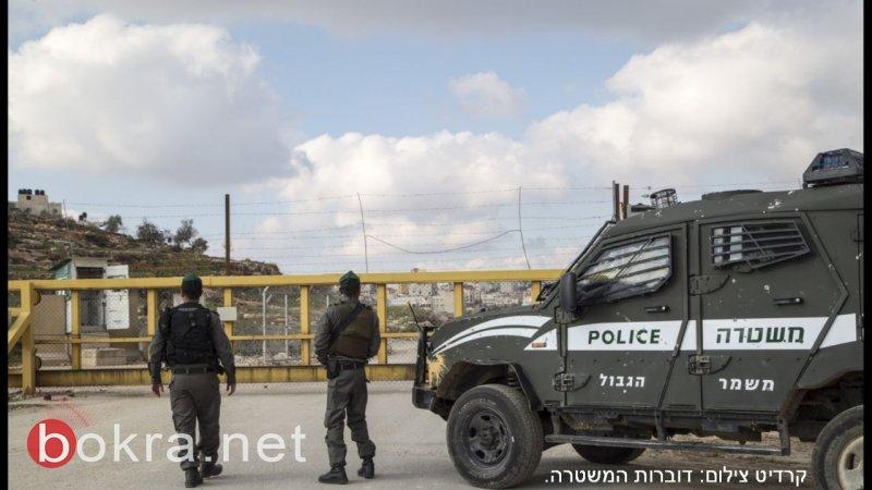 القدس - رشق حجارة ومحاولة اجتياز الجدار الامني واعتقال 6 مشتبهين