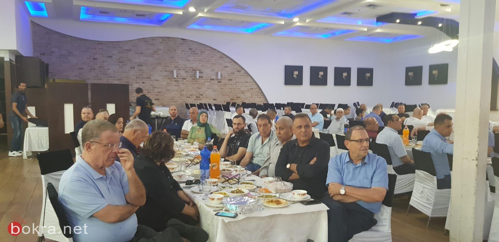 النائب زهير بهلول ينظم افطاراً رمضانياً لحزب العمل
