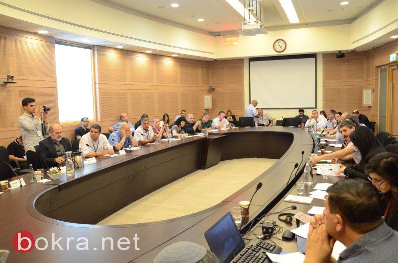 لجنة الاقتصاد البرلمانية تعقد جلسة خاصة بمبادرة النائب يونس ومركز مساواة حول المناطق الصناعية في البلدات العربية