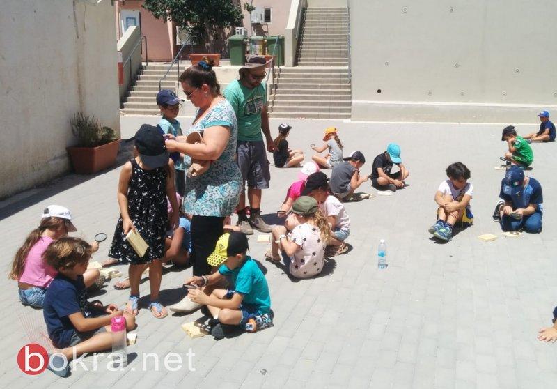 نحو ألف طالب وطالبة في مخيمات الجلبوع .. وأجواء مميزة