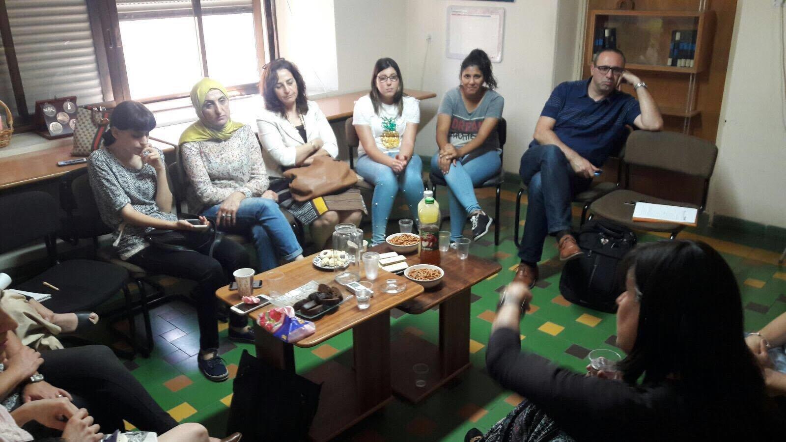 جمعية نساء ضد العنف تختتم دورة تهدف لاكساب مهارات التعامل مع نساء ذوي اعاقات مختلفة