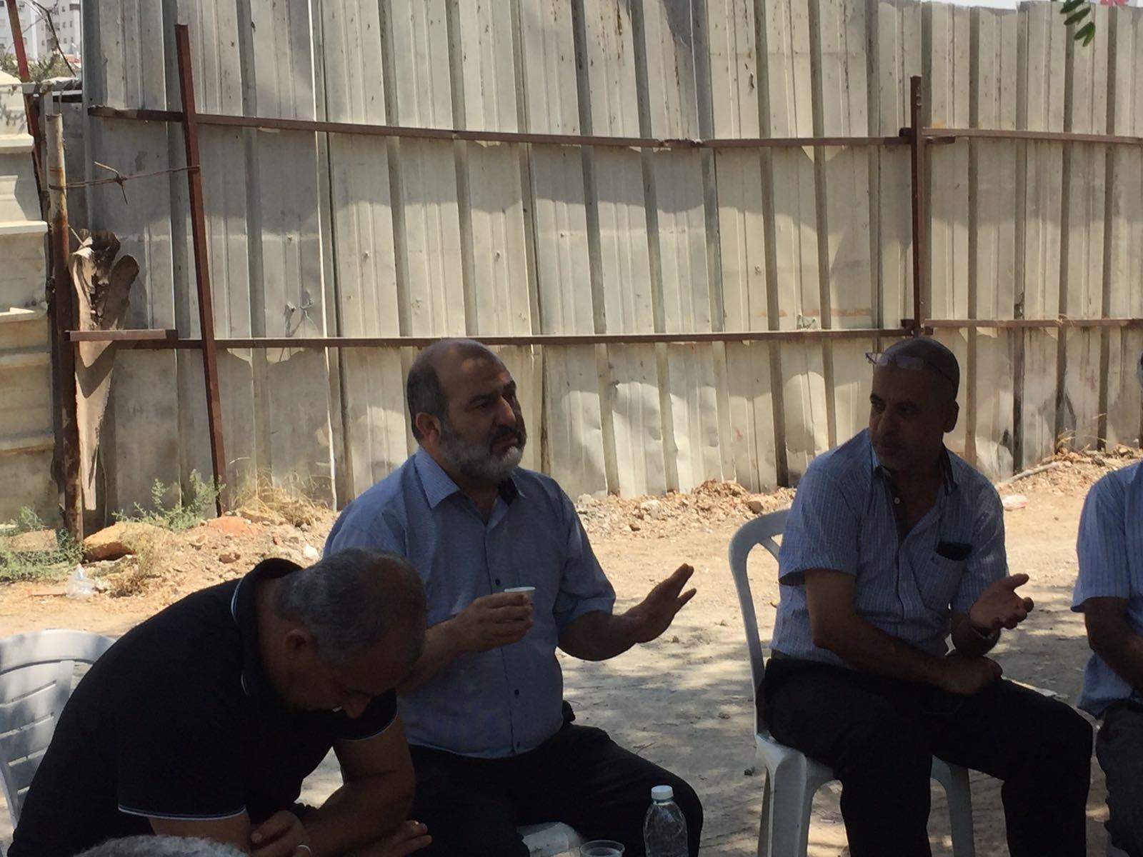 النائب عبد الحكيم حاج يحيى: الهدم في الرملة تصعيد خطير ، يحب تكاتف جميع الطاقات في البلدية ولجنة التنظيم لوقف هذه السياسة المجرمة