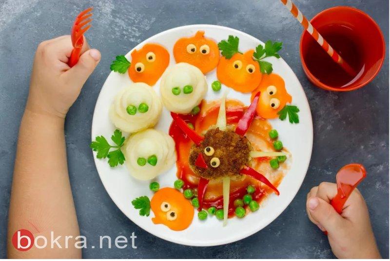 كيف نحول وجبة الاطفال الى احتفالية؟