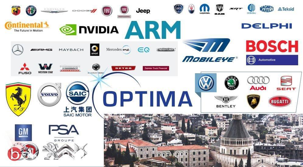 لأول مرة، اللجنة العالمية لمواصفات الأمان للسيارات تجتمع في الناصرة بدعم من اوبتيما