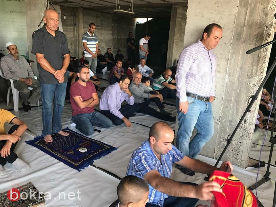 عرعرة: صلاة الجمعة في بيت جزماوي تضامنا معه ضد الهدم