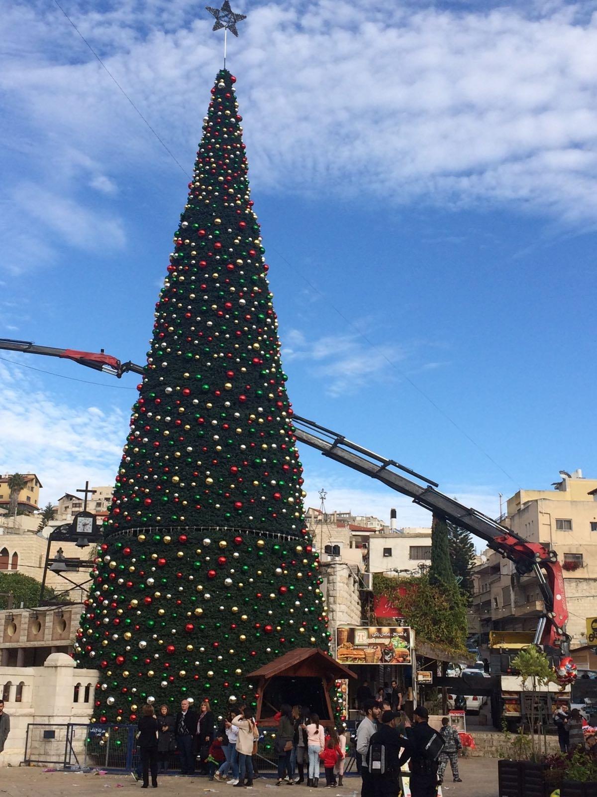 الناصرة تستعد للكريسماس ماركت وإضاءة شجرة الميلاد