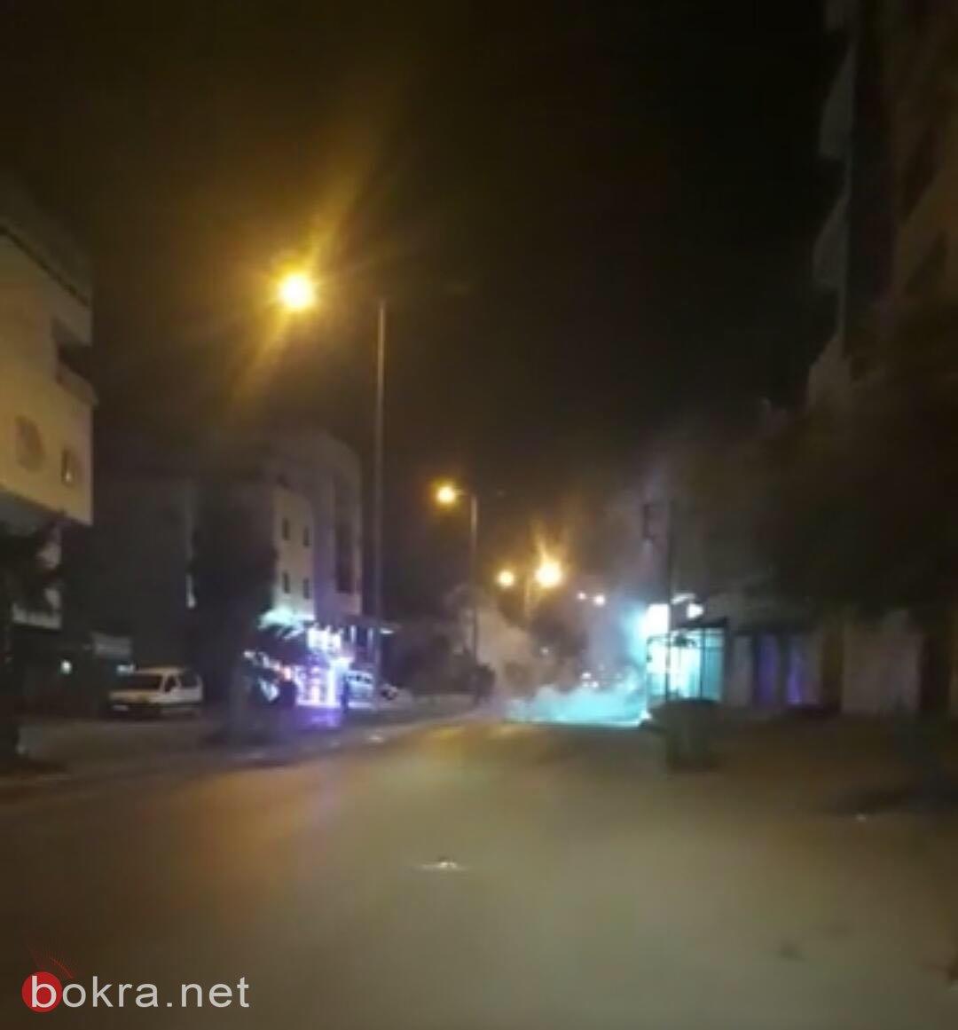 إغلاق جسر حلحول بعد مواجهات مع الجيش الاسرائيلي
