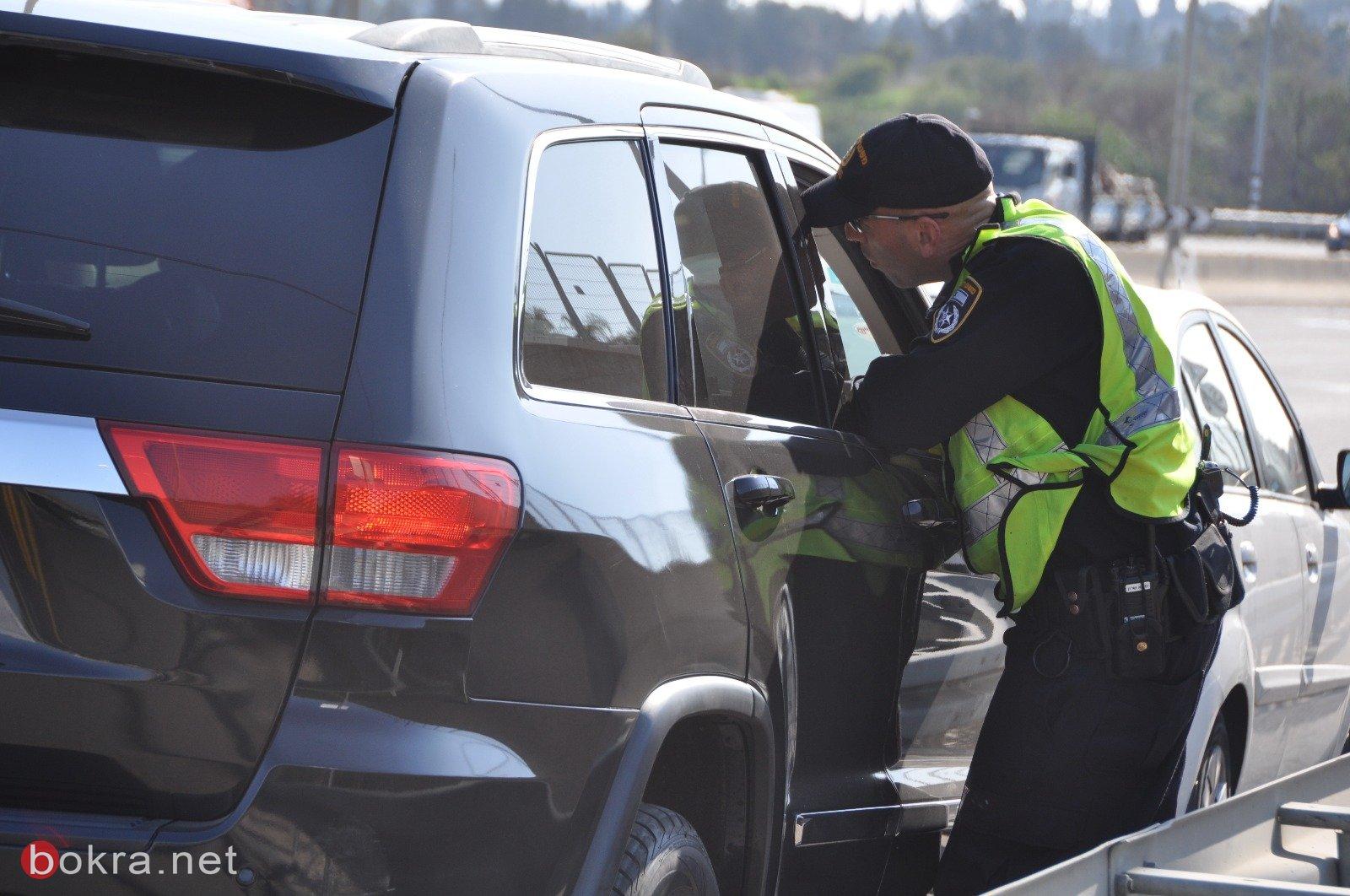 شرطة السير تواصل نشاطها بمكافحة حوادث الطرق بتحرير المخالفات