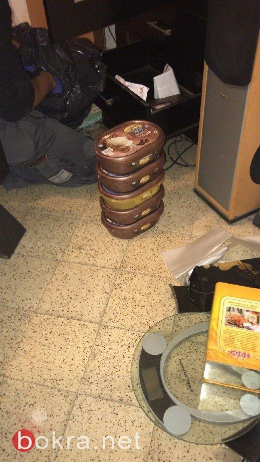 الشرطة : ضبط مخدرات ومواد كيماوية خطيرة داخل شقة سكنية في يافا