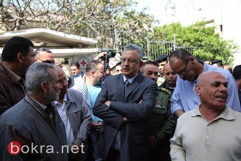 محافظ طولكرم عصام أبو بكر يعلن عن انطلاق فعاليات احياء يوم الأسير، ودعم الأسرى خلال اضراب الحرية والكرامة